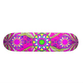 Cadeau rose de plate-forme de la planche à roulett planches à roulettes customisées