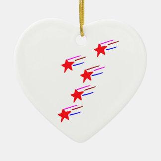 CADEAUX artistiques cinq étoiles TOUS   de RedSTAR Ornement De Noël