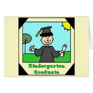 Cadeaux d obtention du diplôme de jardin d enfants cartes de vœux