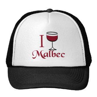 Cadeaux d'amateur de vin malbec casquettes de camionneur