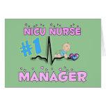 Cadeaux de directeur d'infirmière de NICU Carte De Vœux