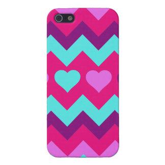 Cadeaux de l'adolescence turquoises roses de fille coque iPhone 5