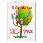 Cadeaux d'infirmière de NICU, bébés adorables dans Cartes De Vœux