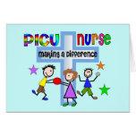Cadeaux d'infirmière de PICU Cartes De Vœux
