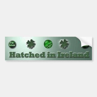 Cadeaux du jour de St Patrick d'Irlandais Autocollant De Voiture