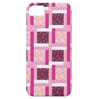 Cadeaux pourpres assez roses de conception coque Case-Mate iPhone 5