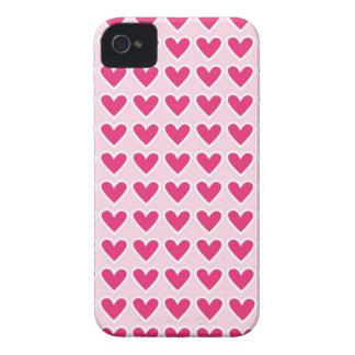 Cadeaux rouges mignons de Saint-Valentin de rose Coques Case-Mate iPhone 4