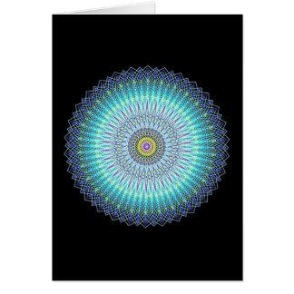 Cadeaux spirituels de mandala carte