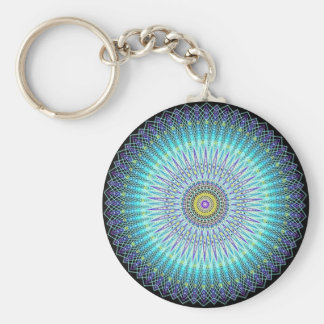 Cadeaux spirituels de mandala porte-clé