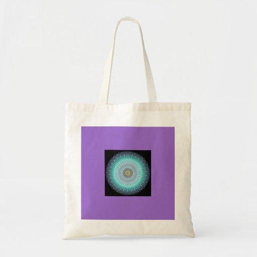 Cadeaux spirituels de mandala sac fourre-tout