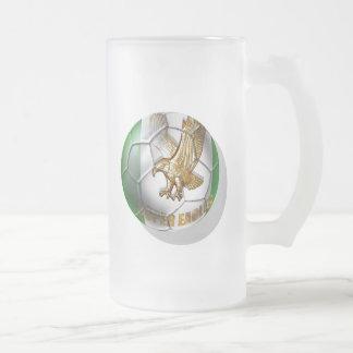 Cadeaux superbes de passionés du football de logo  mugs à café