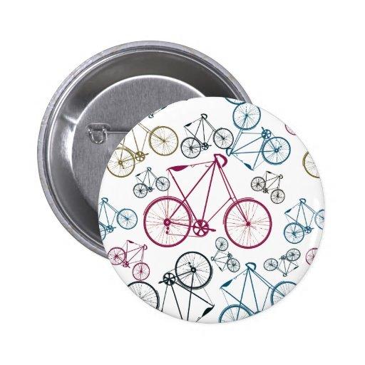 Cadeaux vintages de motif de bicyclette pour des c pin's
