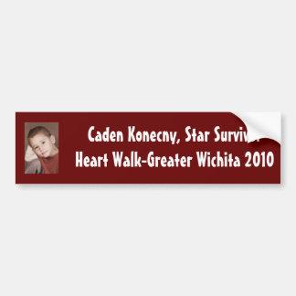 Caden bumper sticker
