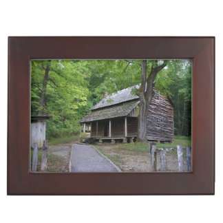 Cades Cove Cabin Keepsake Box