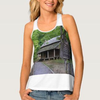 Cades Cove Cabin Tank Top