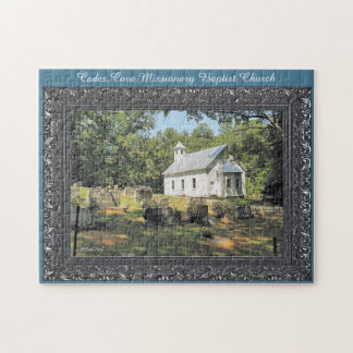 Cades Cove Missionary Baptist Church Jigsaw Puzzle
