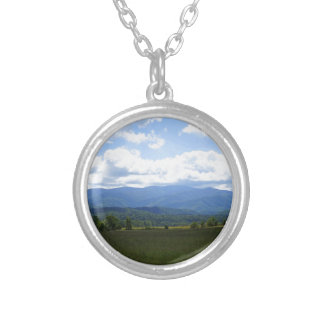 Cades Cove Sky Silver Plated Necklace