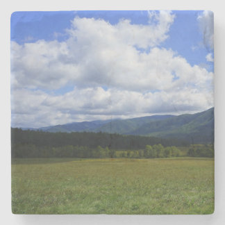 Cades Cove Stone Beverage Coaster