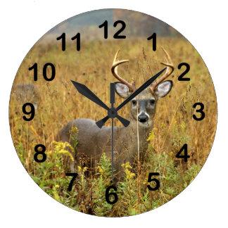 Cades Cove Whitetail Buck Wall Clock