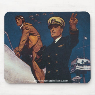 Cadets for Naval Aviation Mouse Pad