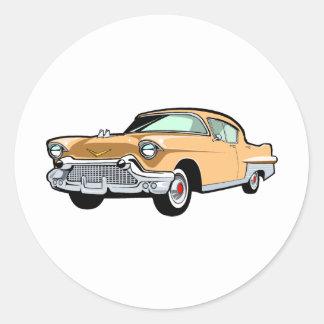 Cadillac 1 round sticker