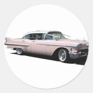 Cadillac 3 copy round sticker