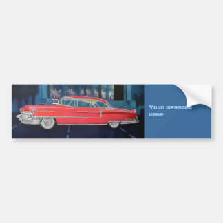 Cadillac bumper sticker