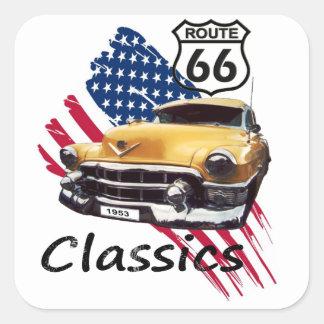 Cadillac Classics Quadratsticker