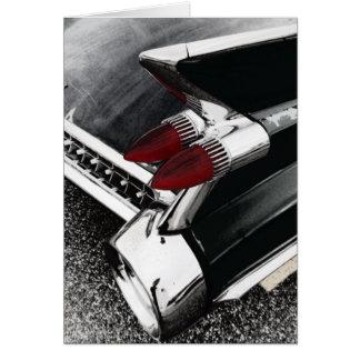 Cadillac Fin Greeting Card