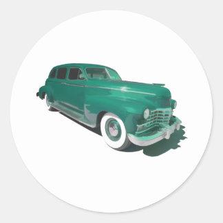 Cadillac Money Round Stickers