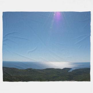 Cadillac Mountain Fleece Blanket, Large