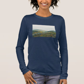 Cadillac Mountain in Fall, Acadia National Park Long Sleeve T-Shirt