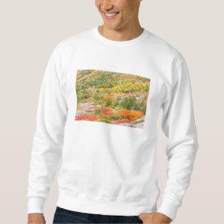 Cadillac Mountain in Fall, Acadia National Park Sweatshirt