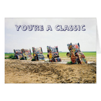 Cadillac Ranch Card