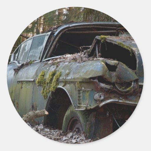 Cadillac Series 62 Round Sticker