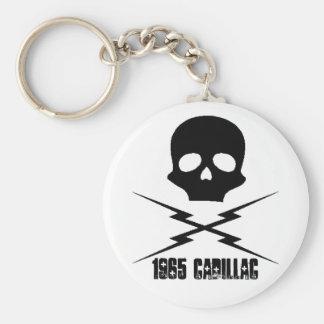 Cadillac Skull Key Chain