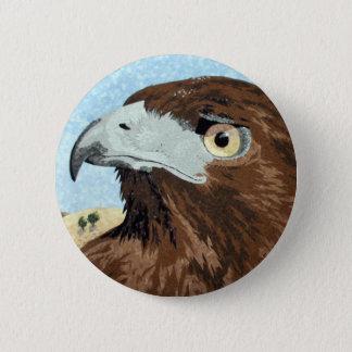 Cadir - Red-tail Hawk 2 Inch Round Button