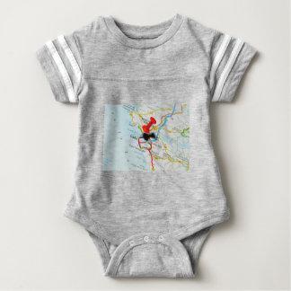 Cadiz, Spain Baby Bodysuit