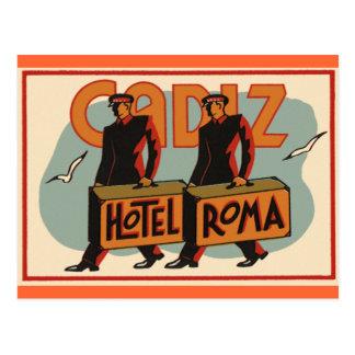 Cadiz Spain Postcard
