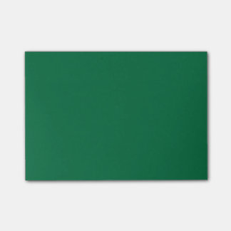 Cadmium Green High Quality Color Coordinated Post-it Notes