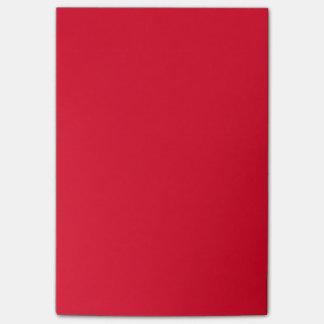 Cadmium Red Cute Color Design Post-it Notes