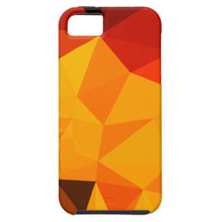 Cadmium Yellow Abstract Low Polygon Background iPhone 5 Cover