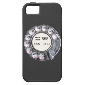Cadran rotatoire de téléphone avec le numéro de té coque iPhone 5 Case-Mate