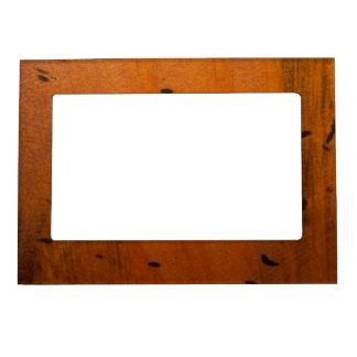 Cadre de tableau magnétique en bois de Faux Cadre Magnétique Pour Photo