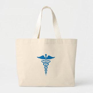 Caducée médical sac fourre-tout