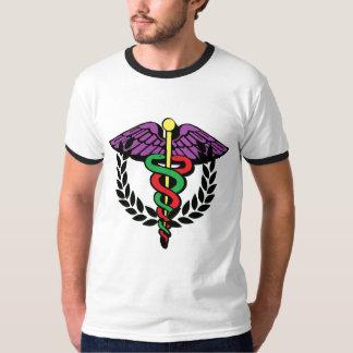 Caduceus and Victory Laurels T-Shirt