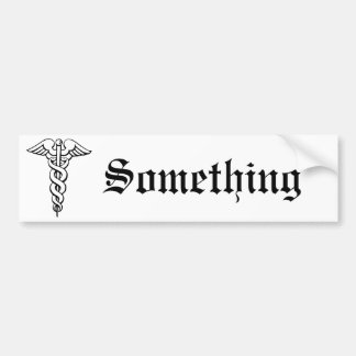 Caduceus Bumper Sticker