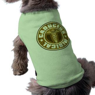Caduceus Dog Tee Shirt