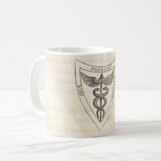 Caduceus in Shield Coffee Mug