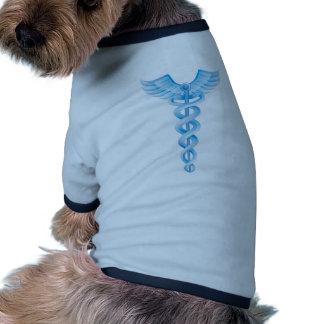 Caduceus Medical Symbol Doggie T Shirt